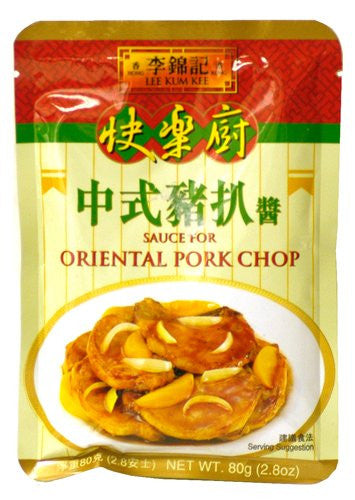 Lee Kum Kee Sauce for Oriental Pork Chop - Pacific Rim Gourmet