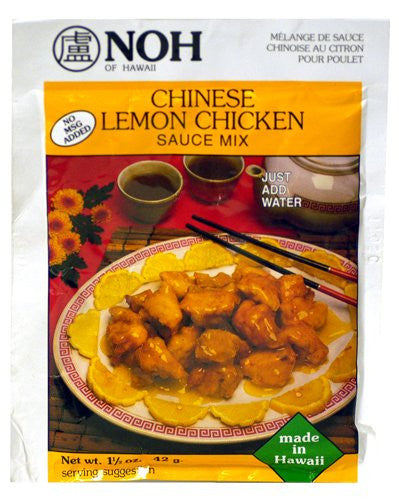 NOH Chinese Lemon Chicken Sauce Mix - Pacific Rim Gourmet