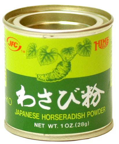 Hime Powdered Wasabi (Japanese Horseradish), 1 oz. - Pacific Rim Gourmet