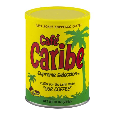 Cafe Caribe Espresso Coffee Can
