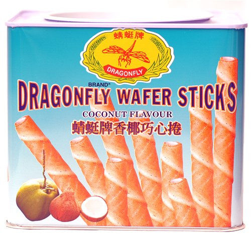 Coconut Wafer Sticks - Pacific Rim Gourmet