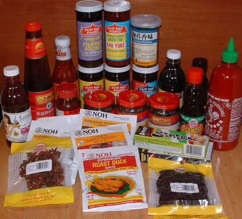 Asian Sauces Kit - Pacific Rim Gourmet