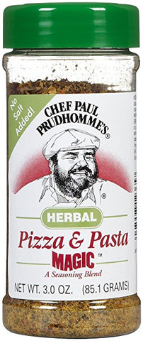 Chef Paul Magic Seasoning Blends Herbal Pizza and Pasta Magic Bits