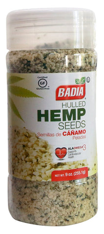 Badia Hulled Hemp Seeds