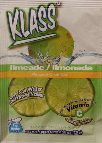 Sweetened Lime Flavored Drink Mix