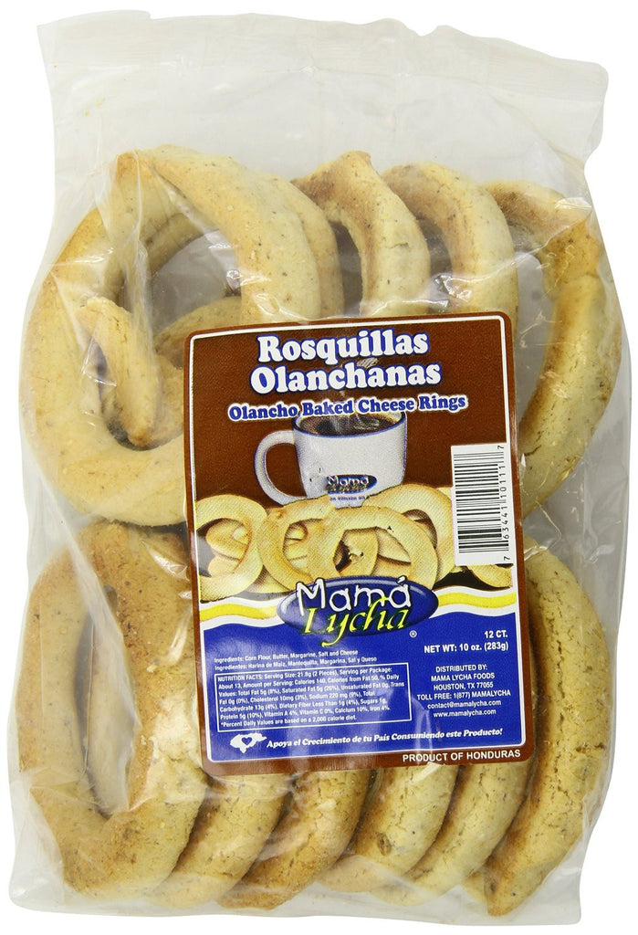 Large Rosquillas (Baked Cheese Bread Rings)