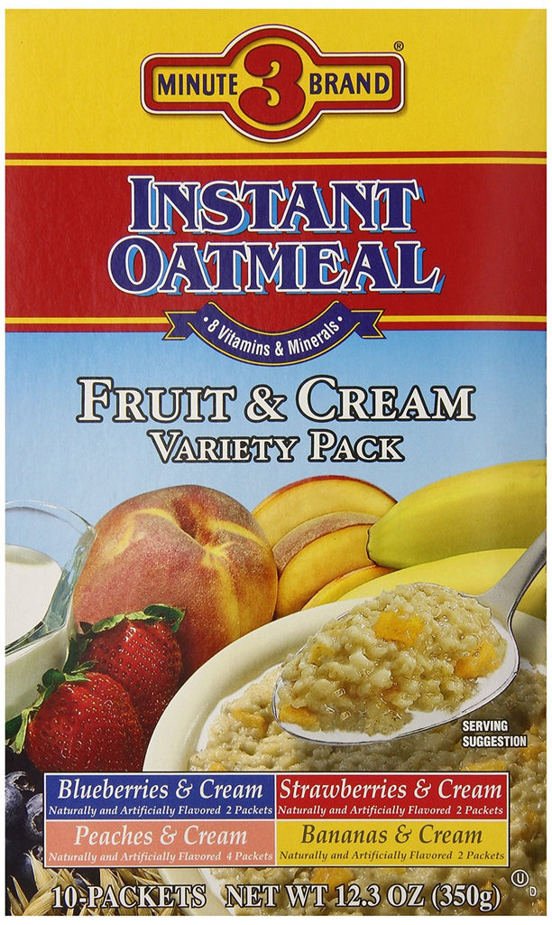 Instant Oats - Fruit & Cream Variety Pack