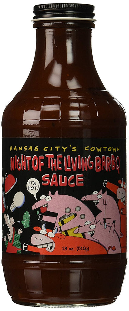 Cowtown Night Of The Living BBQ Sauce
