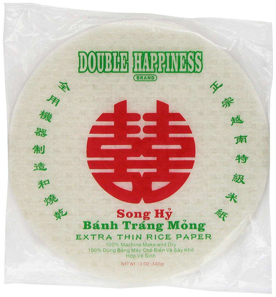 Double Happiness Extra Thin Rice Paper, 31 Cm