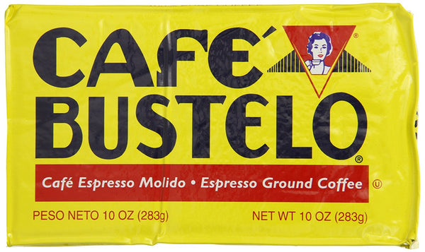 Cafe Bustelo Ground Coffee Brick, Regular - 10 oz