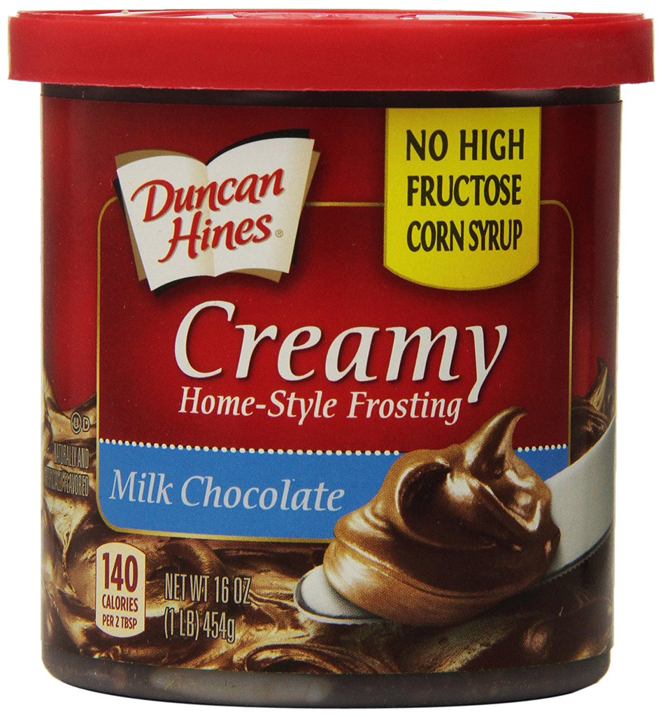 Duncan Hines Home Style Milk Chocolate Premium Frosting