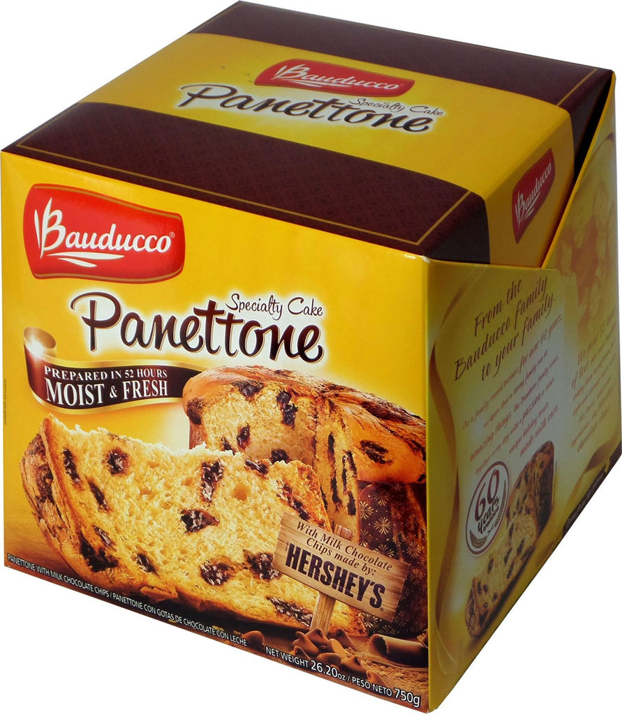 Panettone with Hershey's Chocolate Pieces