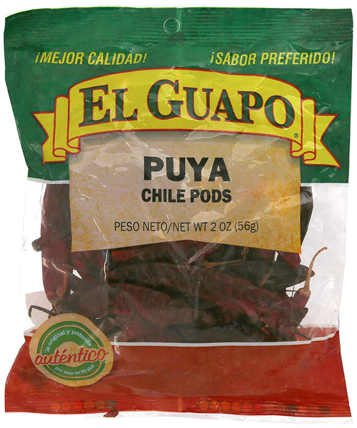 El Guapo Puya Whole Dried Chili Pods - 2 oz