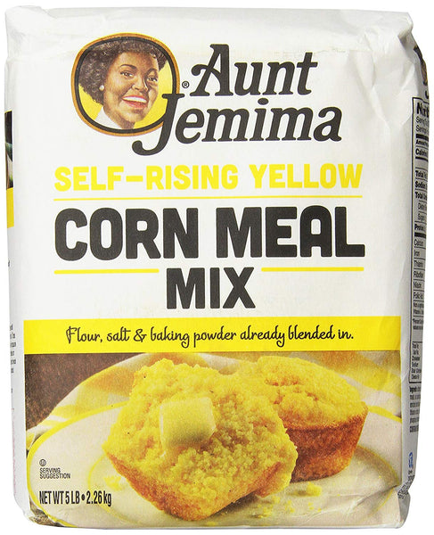 Aunt Jemima Self-Rising Yellow Corn Meal, 5 Pound