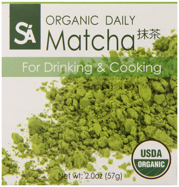 SA Organic Daily Matcha Green Tea Powder