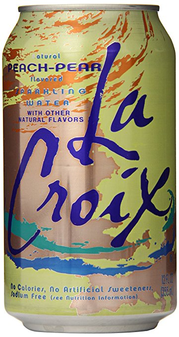LaCroix Sparkling Water, Peach Pear