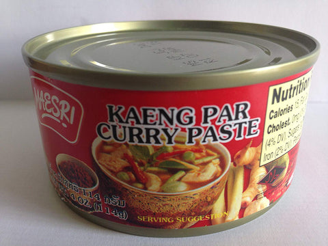 Maesri Kaeng Par Curry Paste