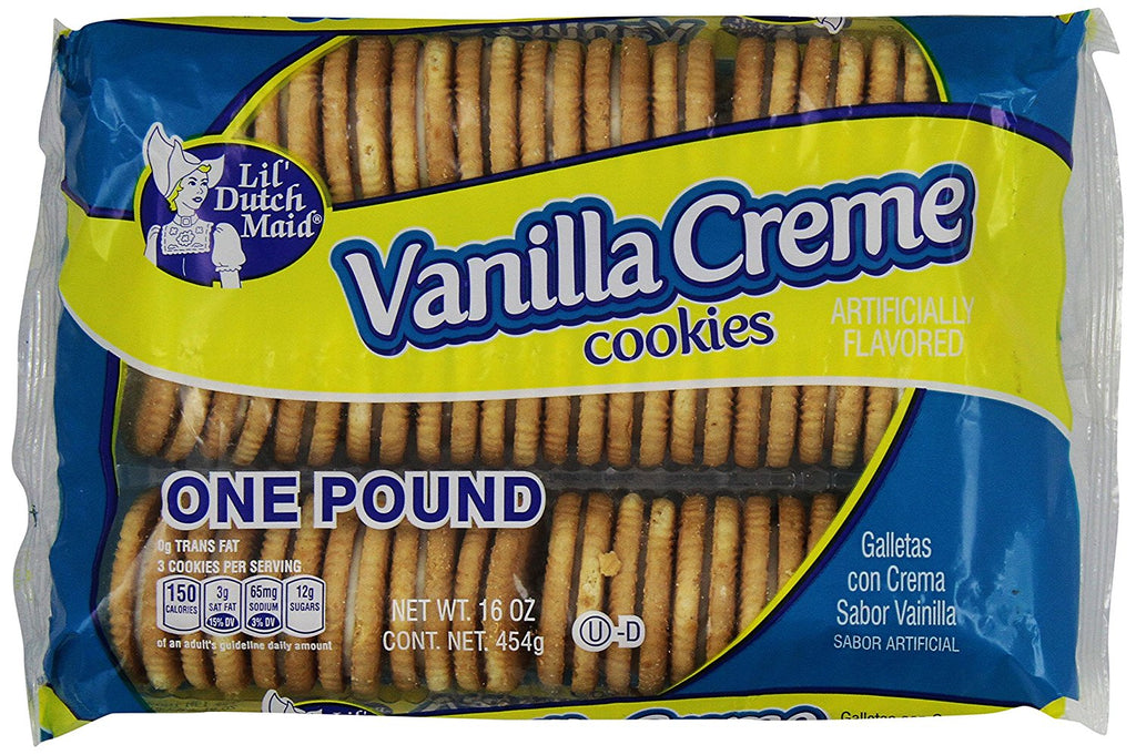 Little Dutch Maid Vanilla Creme Cookies