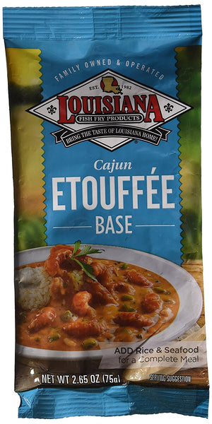 Louisiana Fish Fry Cajun Etouffee Mix