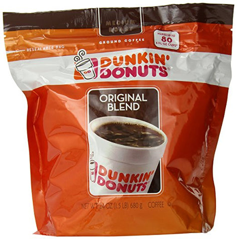 Dunkin Donuts Original Blend Coffee
