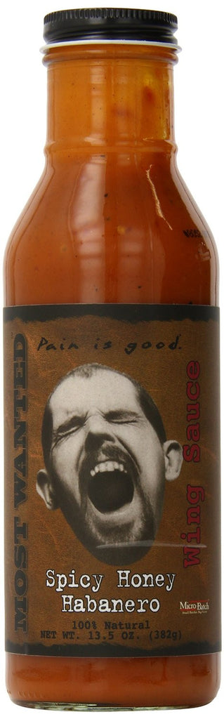 Pain Is Good Spicy Honey Habanero Screaming Wing Sauce - Pacific Rim Gourmet