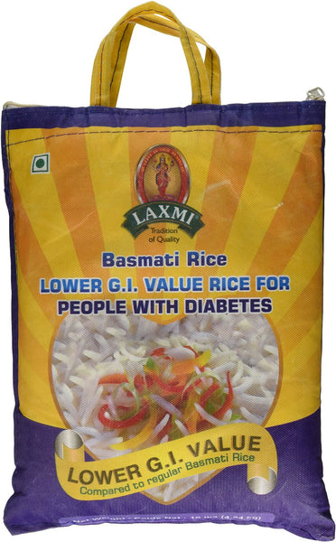Laxmi Basmati Rice Lower G.I. Value Rice - Pacific Rim Gourmet