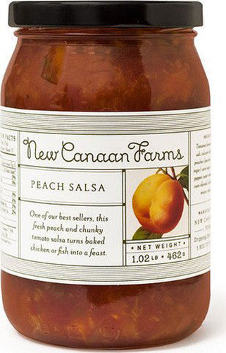New Canaan Farms Peach Salsa - Pacific Rim Gourmet