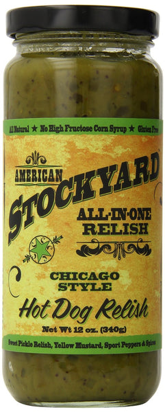 American Stockyard Chicago Style Hot Dog Relish - Pacific Rim Gourmet