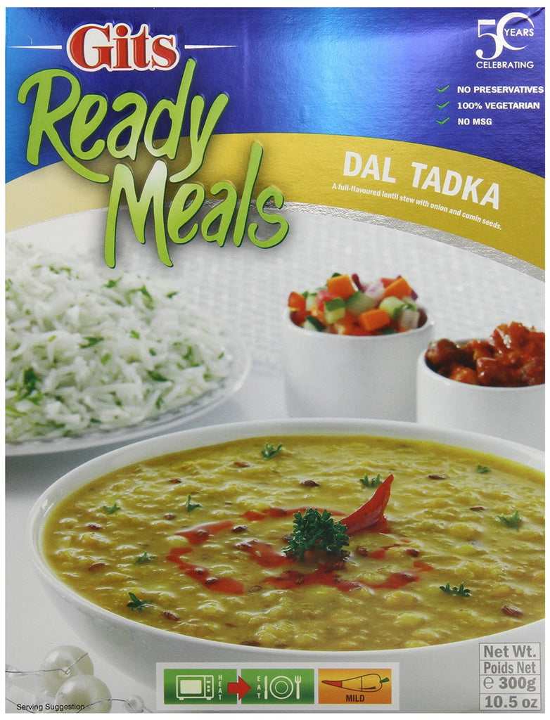 Gits Dal Tadka Ready Meal - Pacific Rim Gourmet