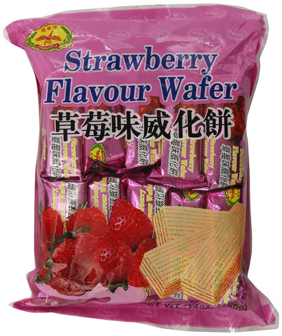 Dragonfly Strawberry Flavour Wafer