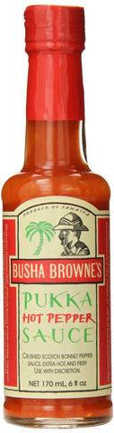 Busha Brownes Pukka Hot Pepper Sauce - Pacific Rim Gourmet