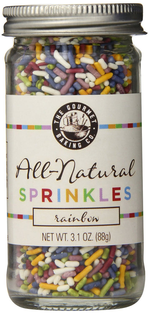 Pepper Creek Farms All Natural Sprinkles, Rainbow - Pacific Rim Gourmet