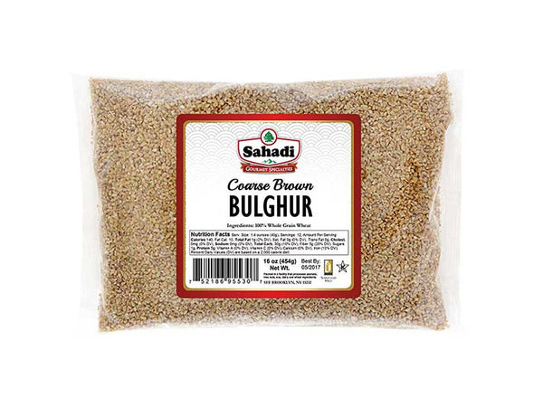 Sahadi Coarse Brown Bulghur - Pacific Rim Gourmet