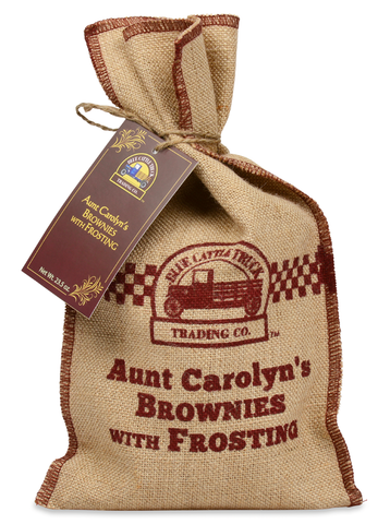 Aunt Carolyn Brownies with Frosting - Pacific Rim Gourmet