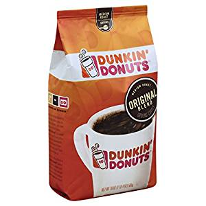 Dunkin Donuts Medium Roast Coffee