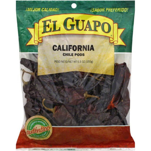 El Guapo California Chile Pods