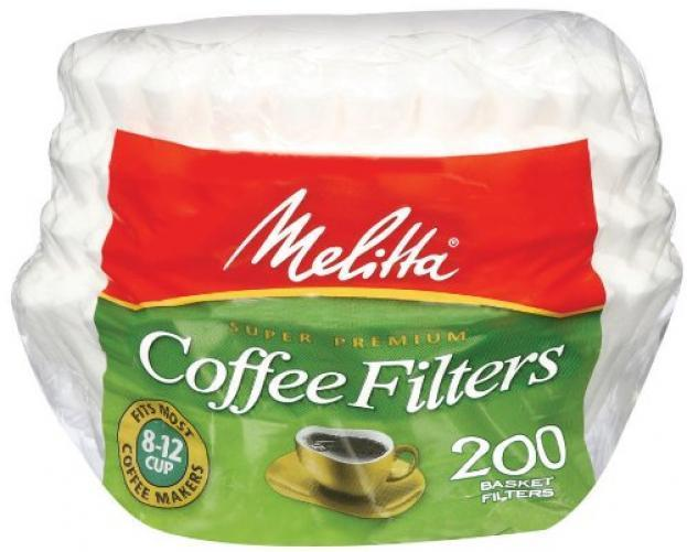 Melitta Basket Filters 200 count