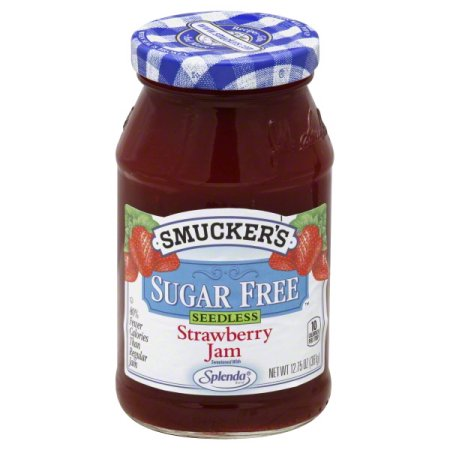 Smuckers Seedless Sugar Free Strawberry Jam