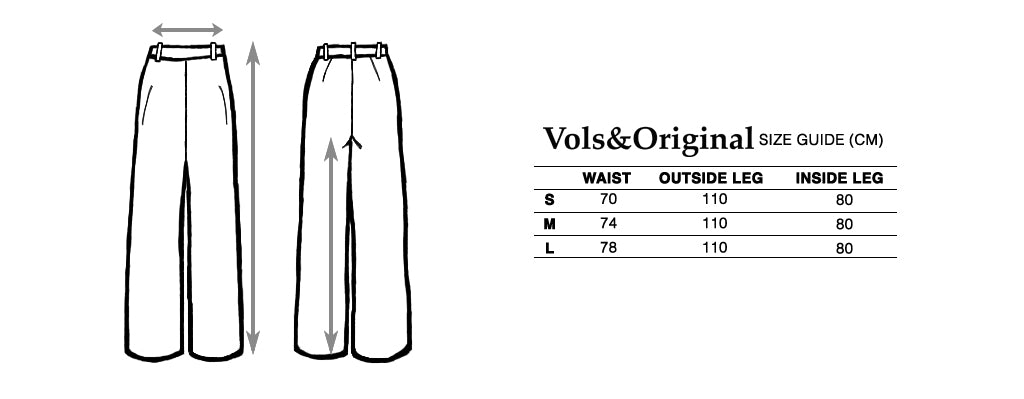 vols & original size guide pants trousers bespoke leather jacket