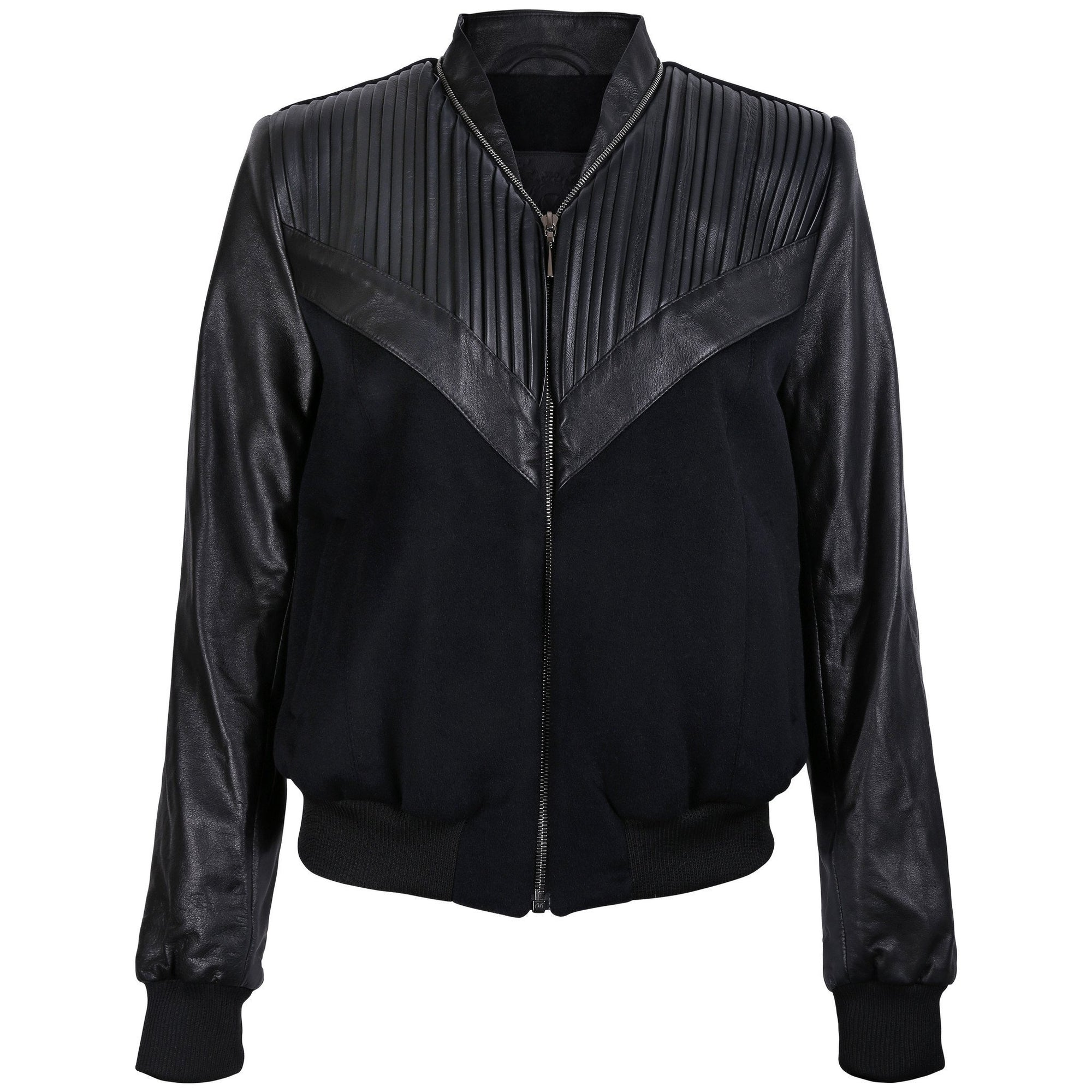Pleated Bomber Jacket - VOLS & ORIGINAL