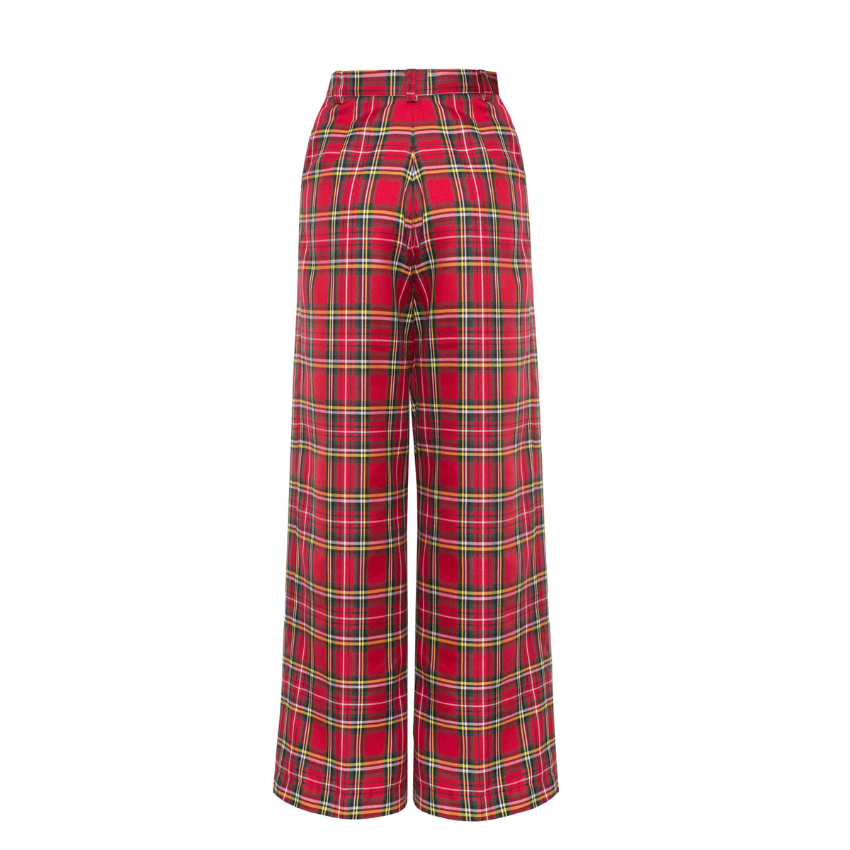 Reality Check Red high-rise trousers - VOLS & ORIGINAL
