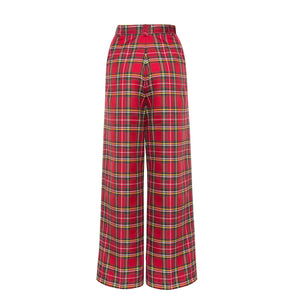 Reality Check Red high-rise trousers