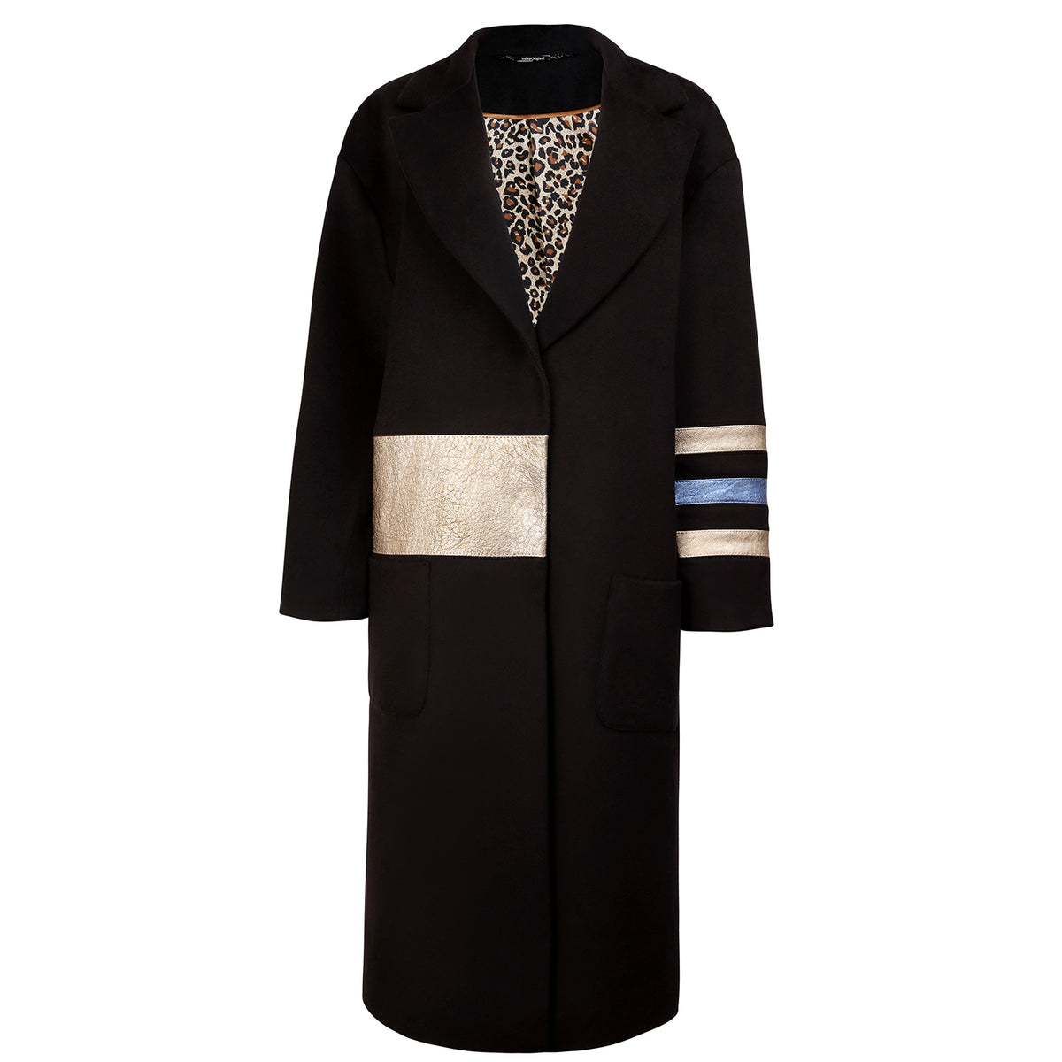 'Gold Dust' Cashmere Oversized Coat - VOLS & ORIGINAL