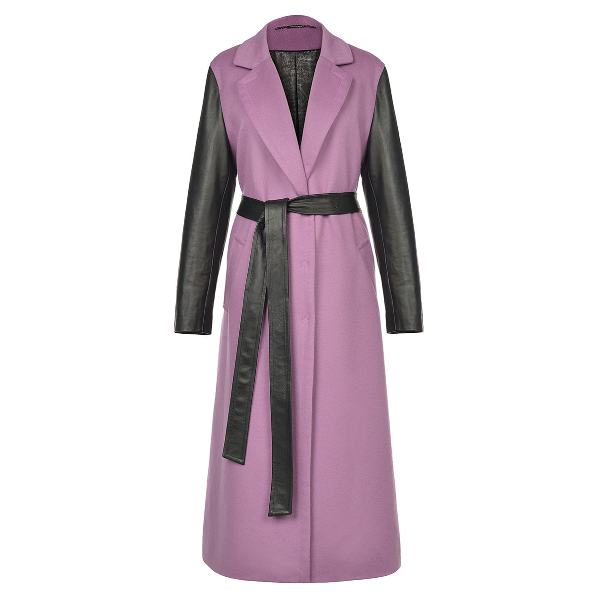 'Amen Rose' Cashmere Trench Coat - VOLS & ORIGINAL