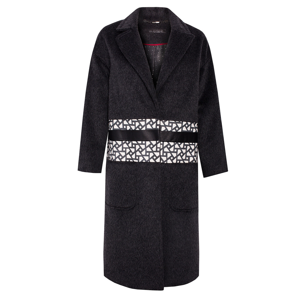 'Graffa' Cashmere Oversized Coat - VOLS & ORIGINAL