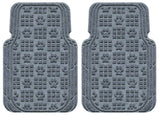 Waterhog Car Mats Paw Print Large Front Set Bluestone