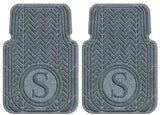 Waterhog Car Mats Personalized Front Set Bluestone