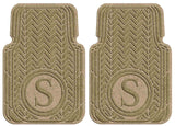 Waterhog Car Mats Personalized Front Set Camel