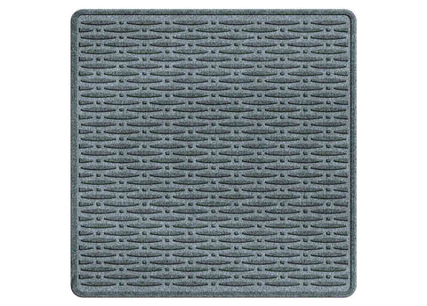 Waterhog Car Mats Traction Large Cargo Bluestone