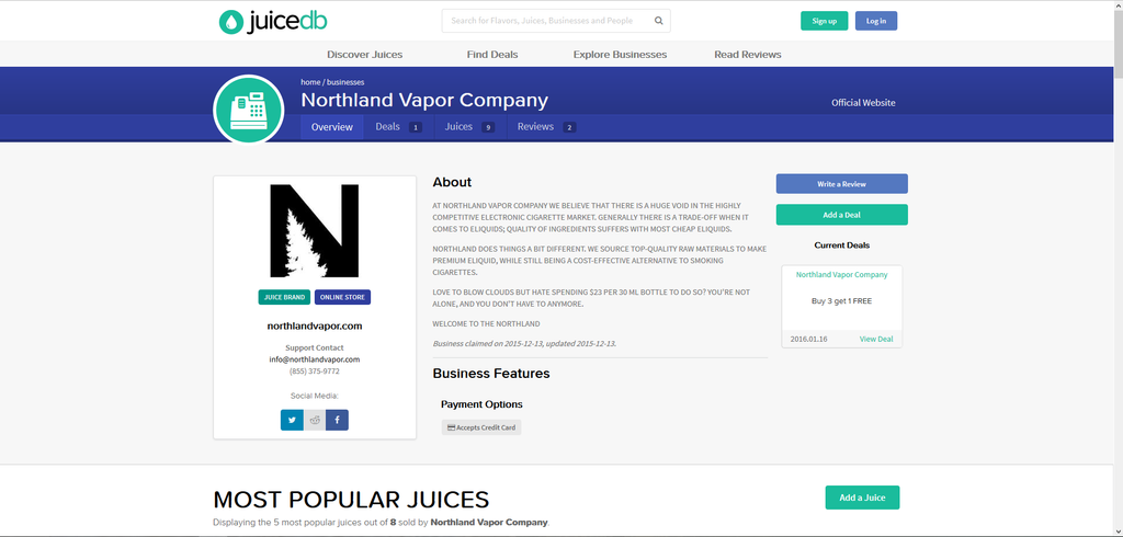 Have you heard of this AWESOME eJuice site?